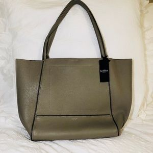 Botkier Soho Tote in soft grey gunmetal.